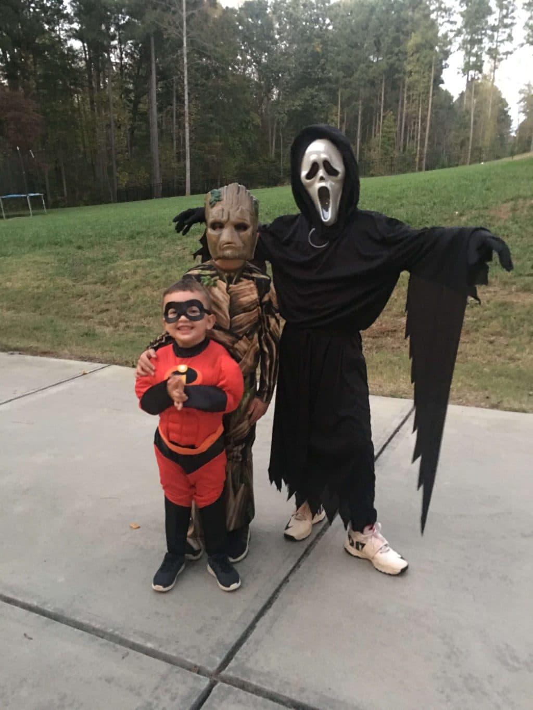 Boy Halloween, Stilettos and Diapers, Cooper Wey, Callan Wey