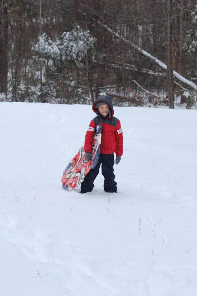 Callan Wey, Stilettos and Diapers, Snow Day, North Carolina