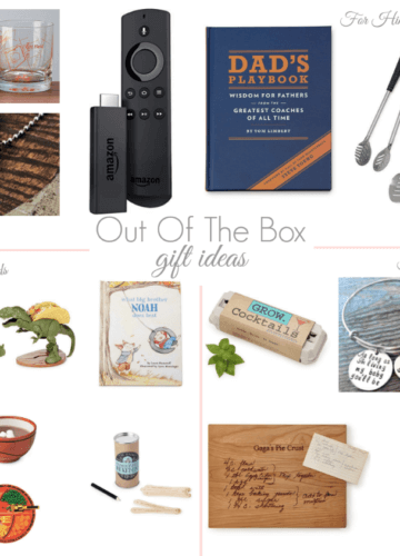 Put of the box gift ideas, Stilettos and Diapers