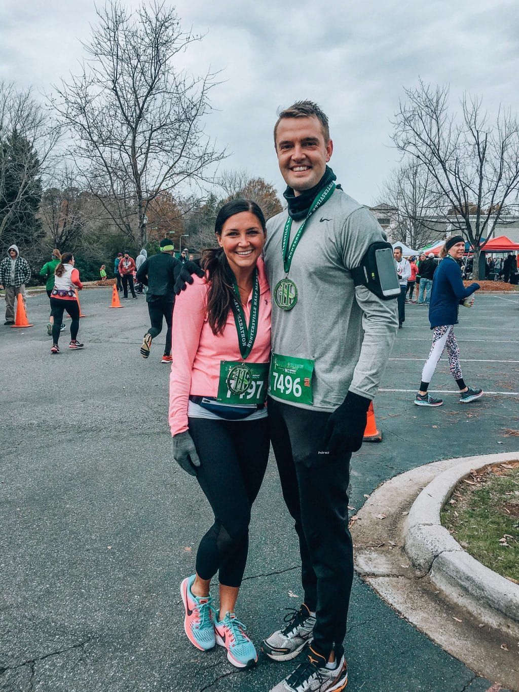 Huntersville Half Marathon, Stilettos and Diapers, Molly Wey
