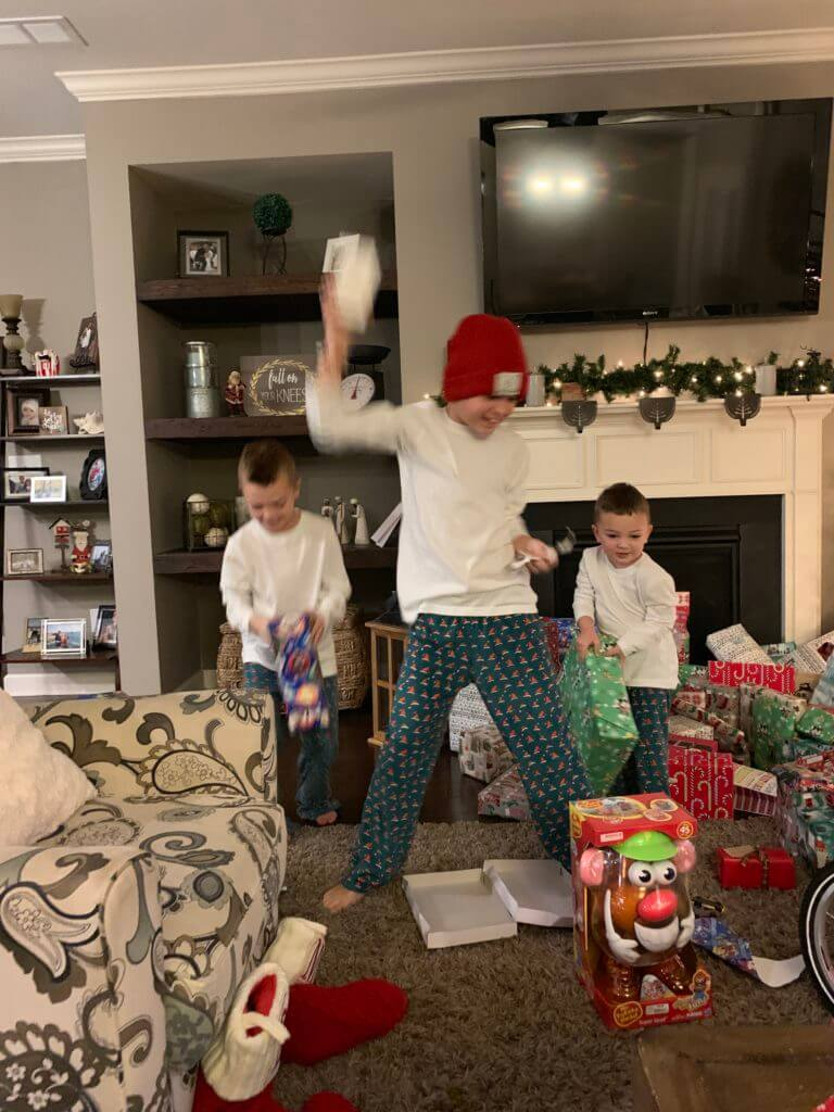 Christmas in Review, Stilettos and Diapers, Cooper Wey, Callan Wey, Lincoln Wey