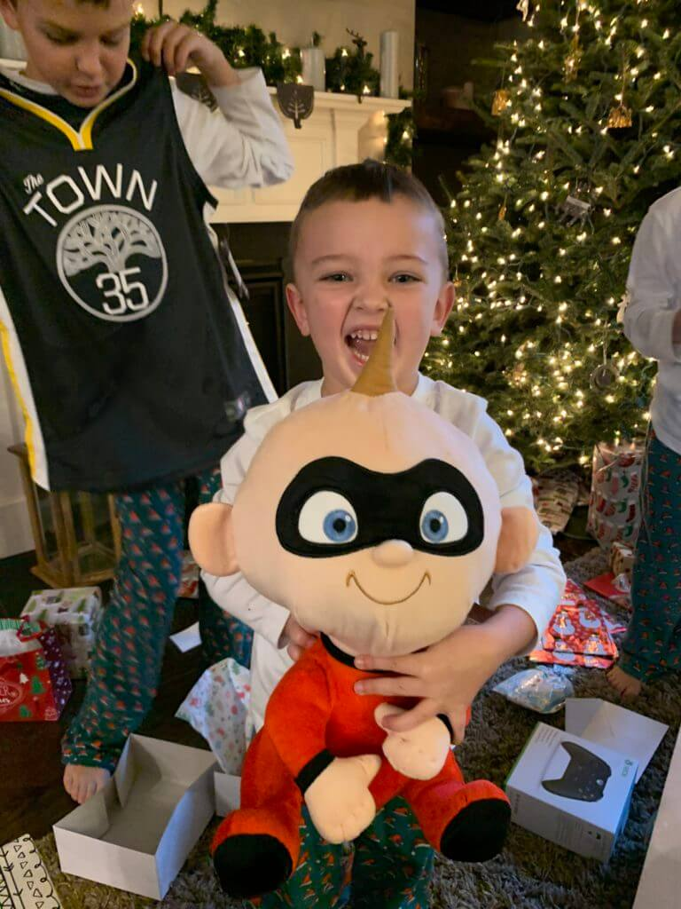 Lincoln Wey, Christmas in review, Jack Jack Plush, Stilettos and Diapers