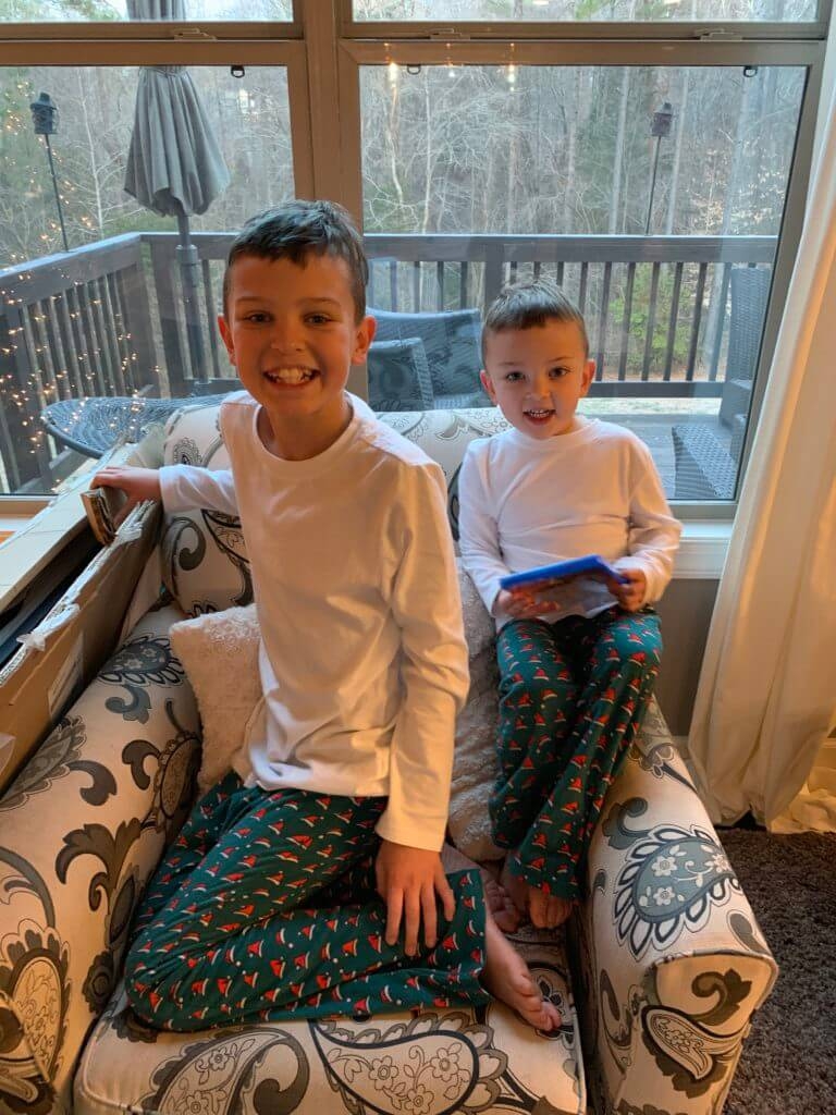 Cooper Wey, Lincoln Wey, Stilettos and Diapers, Christmas in Review