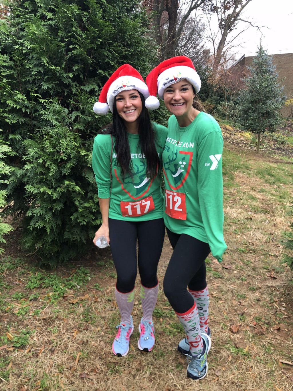 Mistletoe Run, Winston Salem, Heather Brown, Molly Wey, Stilettos and Diapers