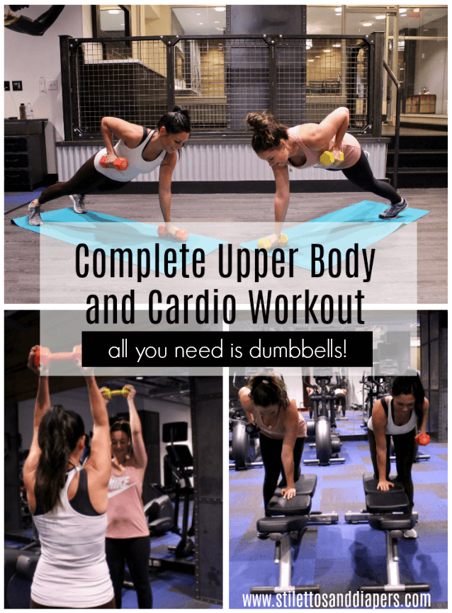 Upper Body Cardio Workout At Home, Stilettos and Diapers, Molly Wey
