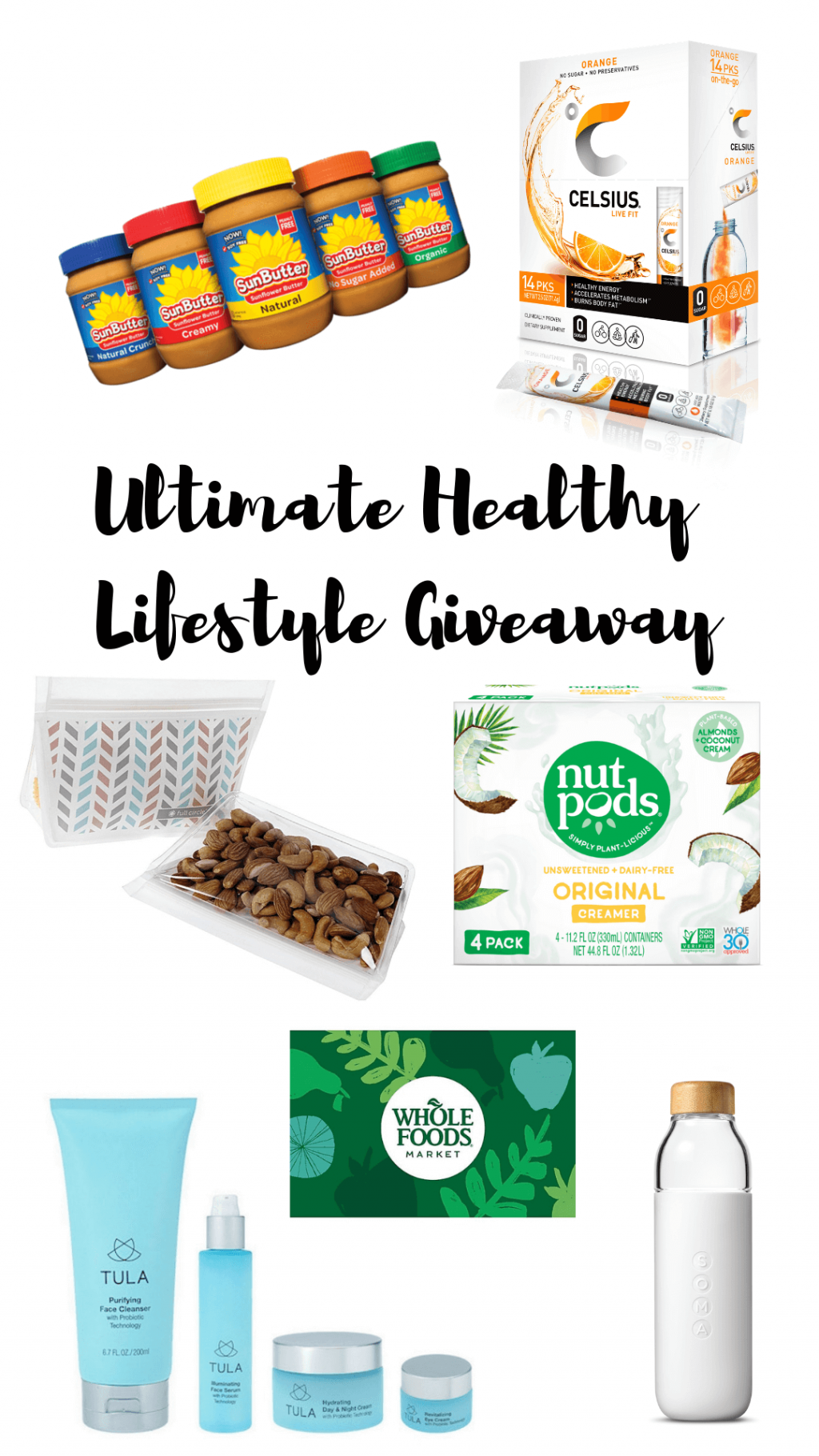 Healthy Lifestyle Giveaway, Stilettos and Diapers