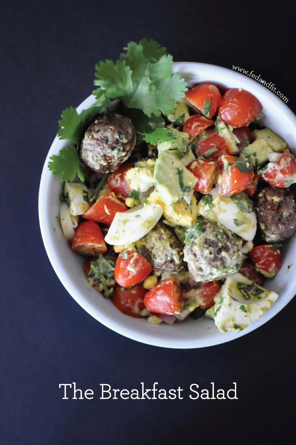 The Breakfast Salad, Whole30 Big Batch Breakfasts via Stilettos and Diapers