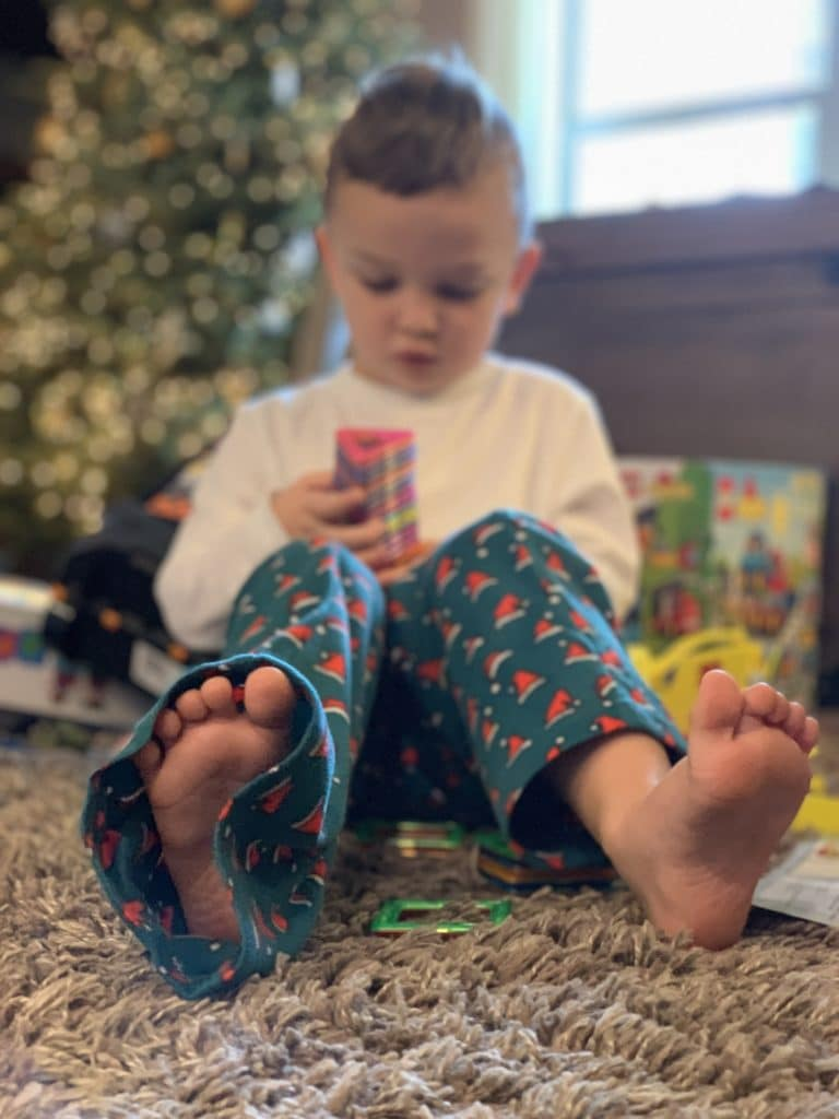Christmas Morning, Stilettos and Diapers