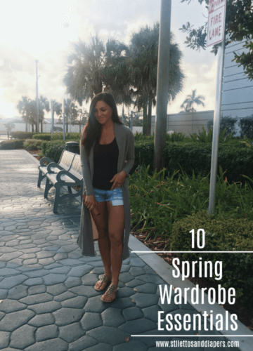 10 Spring Wardrobe Essentials, Stilettos and Diapers, Molly Wey