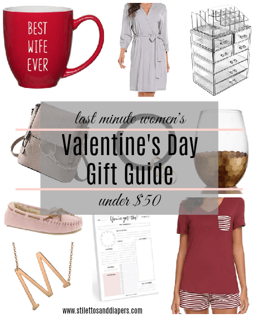 Valentine's Day Gift Guide, Last Minute, Under $50, Her and Him, Stilettos and Diapers