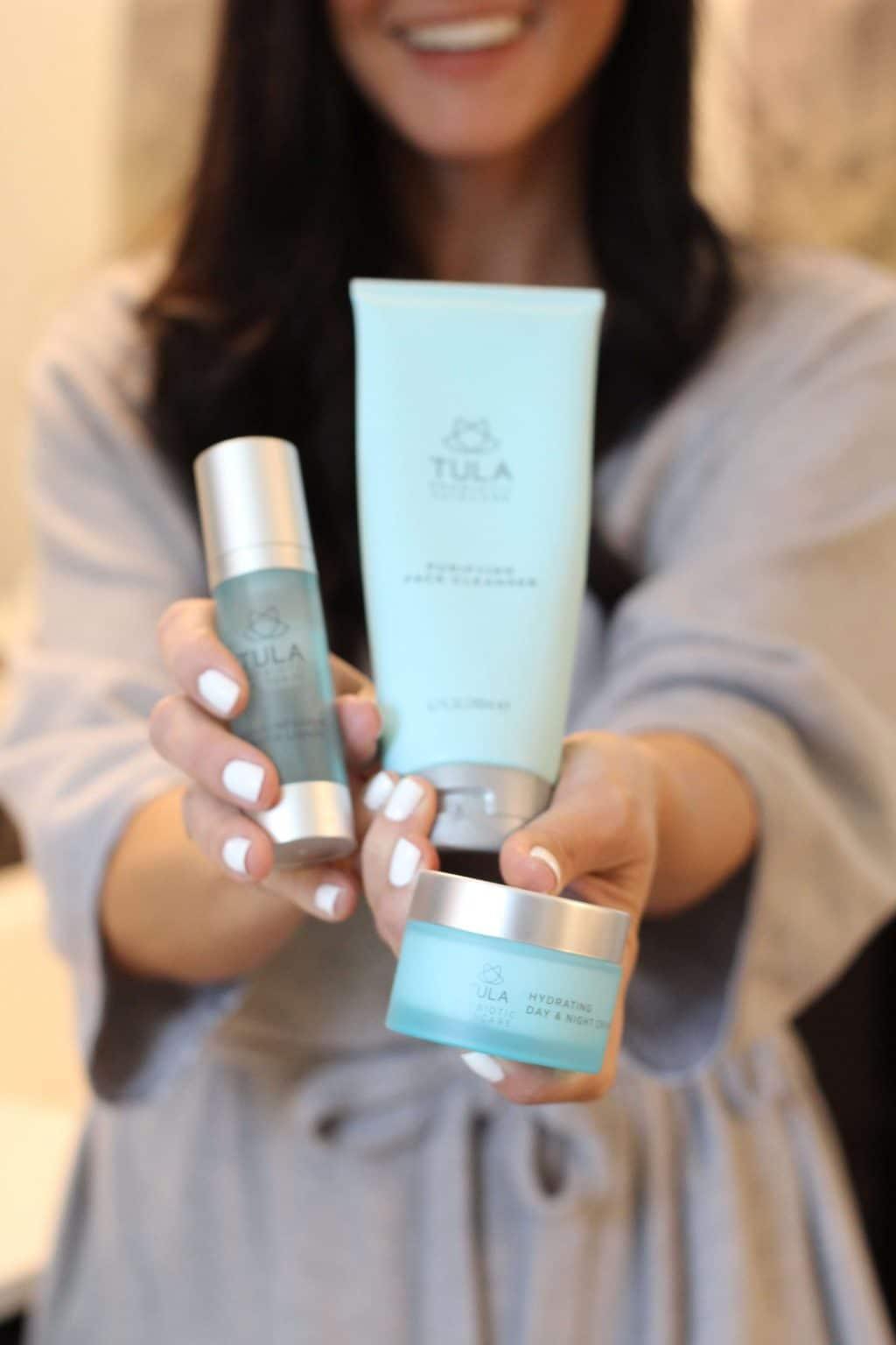 Tula Skincare, Spring Skin Care Favorites, Stilettos and Diapers