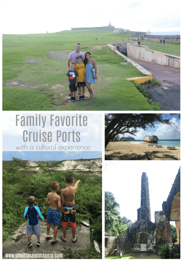Family Favorite Cruise Ports, Cultural Experience, Stilettos and Diapers, Carnival Horizon