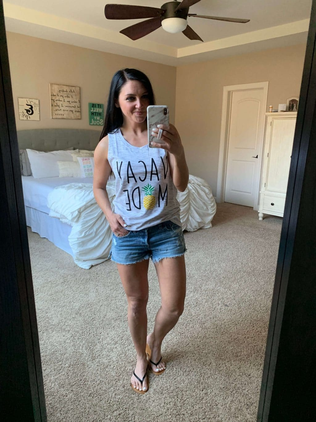 Amazon style, Vacay Mode Tee, Summer Style, Stilettos and Diapers