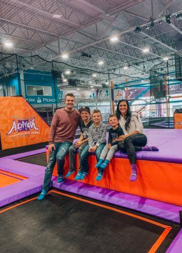 Altitude Trampoline Park Gastonia, Charlotte Jump Park, Family Fun, Spring Break Staycation Ideas, Stilettos and Diapers