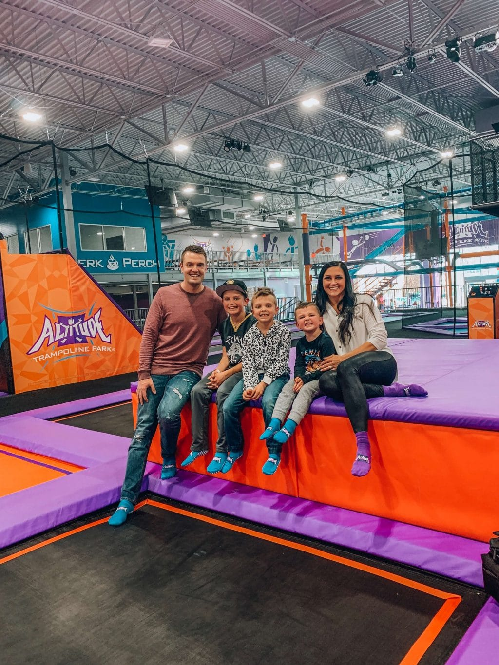 Family Fun - Altitude Trampoline Park
