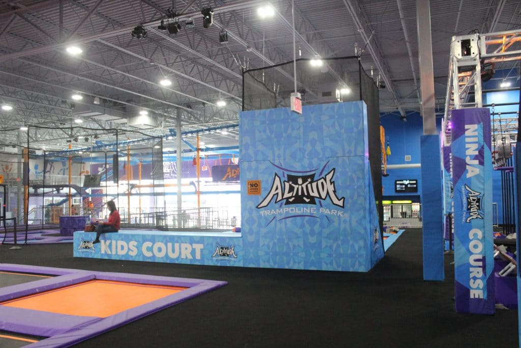 Altitude Trampoline Park Gastonia, Charlotte Jump Park, Family Fun, Spring Break Staycation Ideas, Stilettos and Diapers