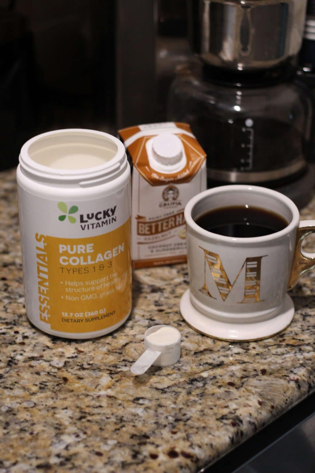 Collagen Coffee, Easy healthy food swaps, Lucky Vitamin, Stilettos and Diapers