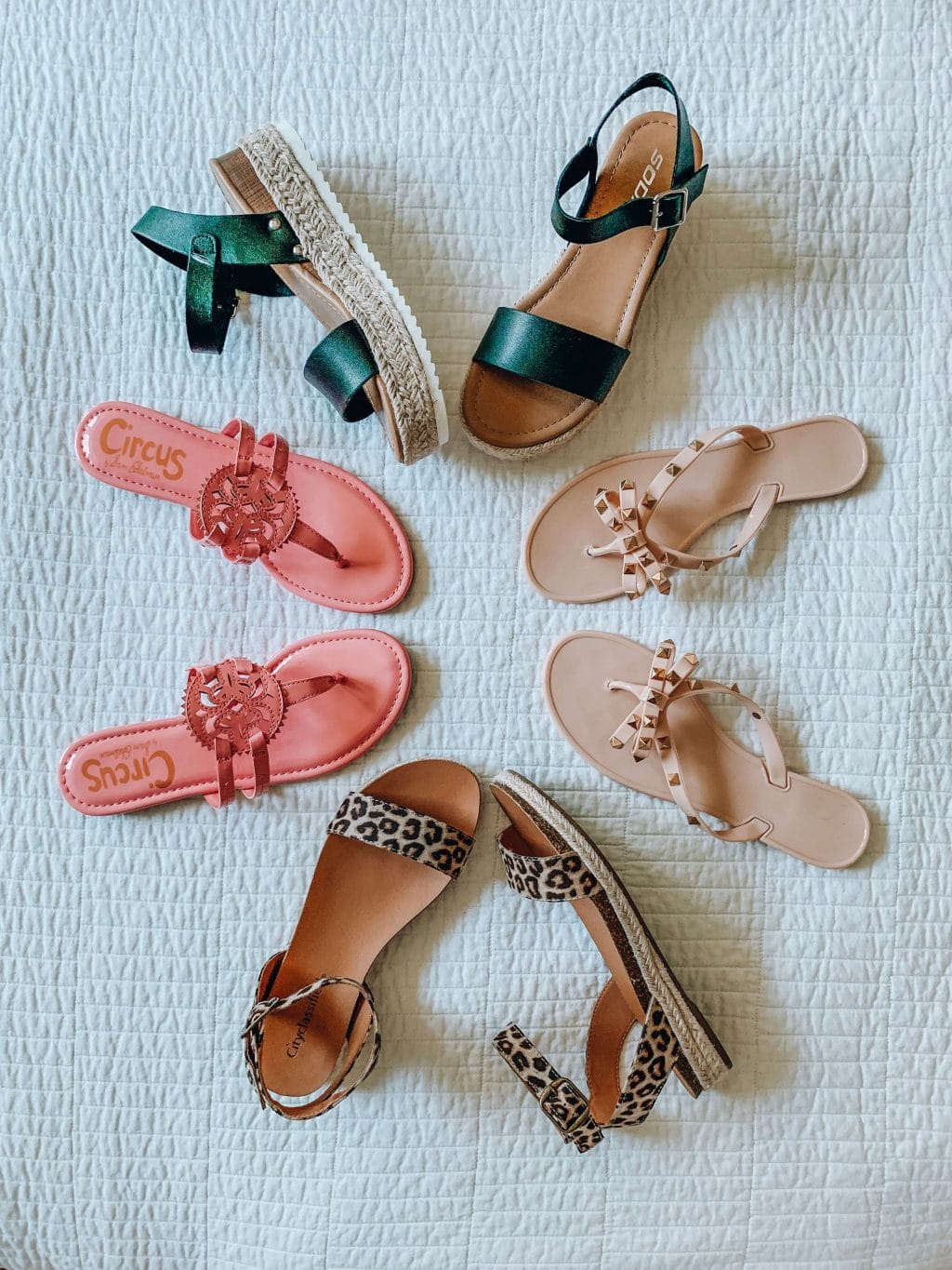 Amazon Fashion Haul, Summer Style, Stilettos and Diapers, Molly Wey, Affordable Summer Sandals