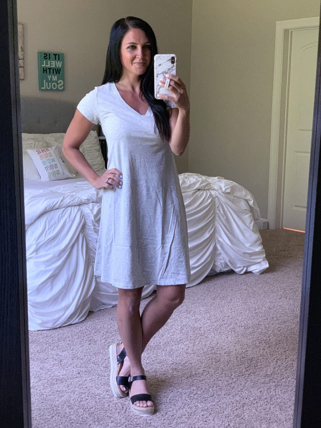 Amazon Fashion Haul, Summer Style, Stilettos and Diapers, Molly Wey, T Shirt Dress