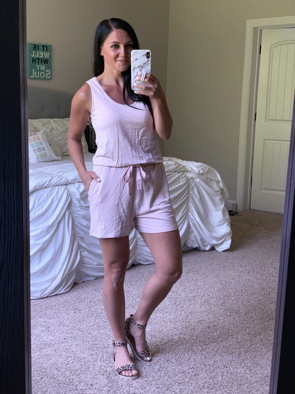Amazon Fashion Haul, Summer Style, Stilettos and Diapers, Molly Wey, Casual Romper, Athleisure