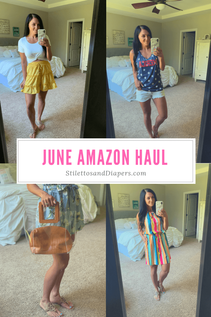 Amazon Haul, stilettos and diapers, Molly Wey, summer style
