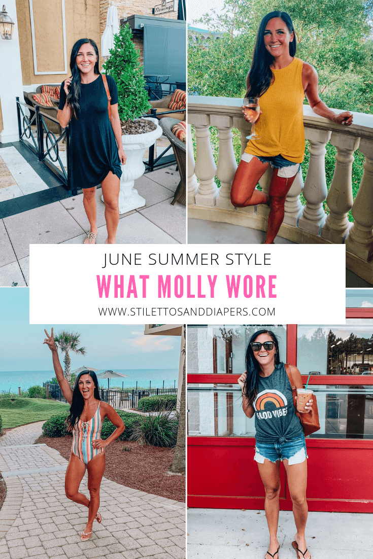What Molly Wore June 2019, Instagram Fashion, Instastyle
