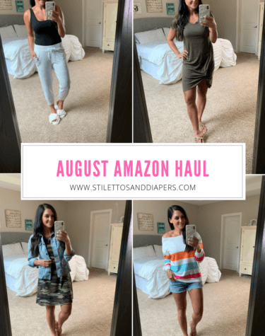August Amazon Haul