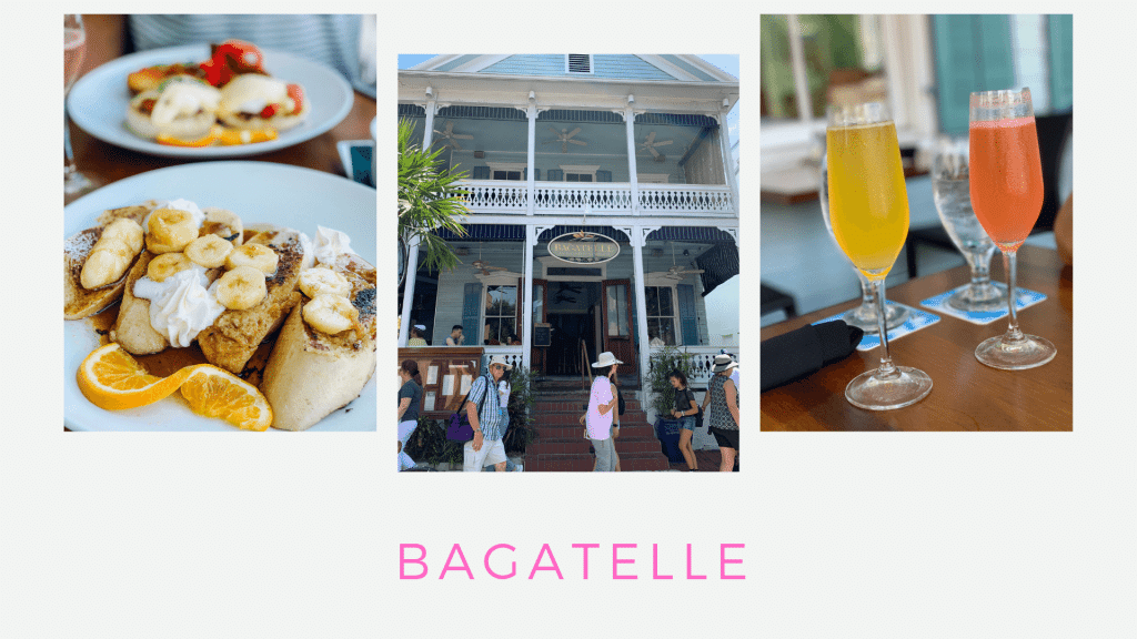 Trip Guide to Key West, Florida, Couples Getaway, Stilettos and Diapers, Bagatelle