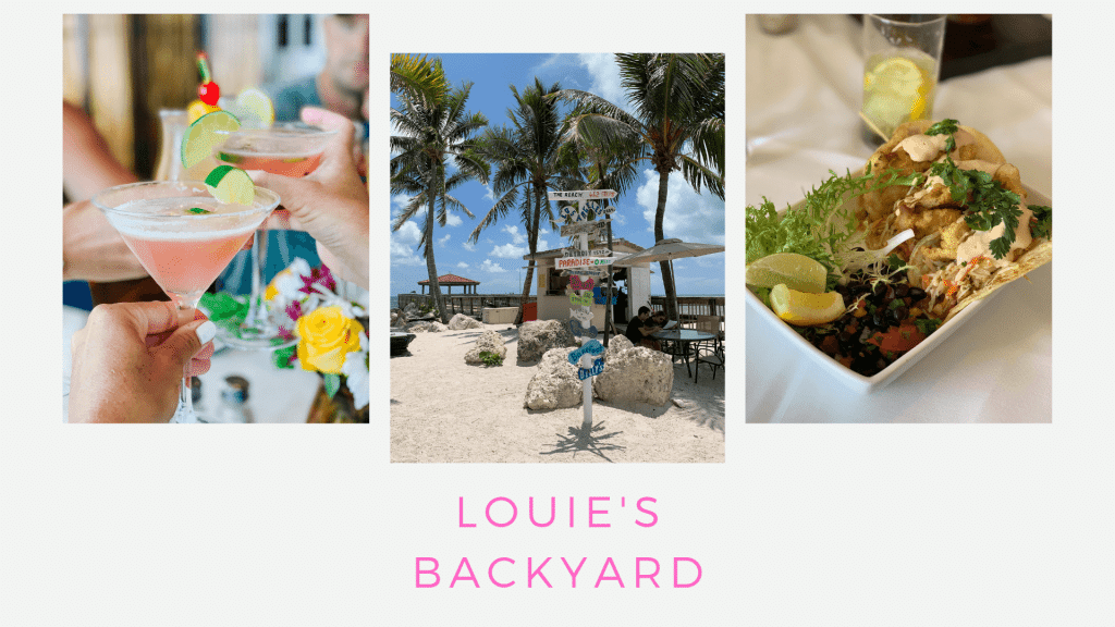 Trip Guide to Key West, Florida, Couples Getaway, Stilettos and Diapers, Louie's Backyard