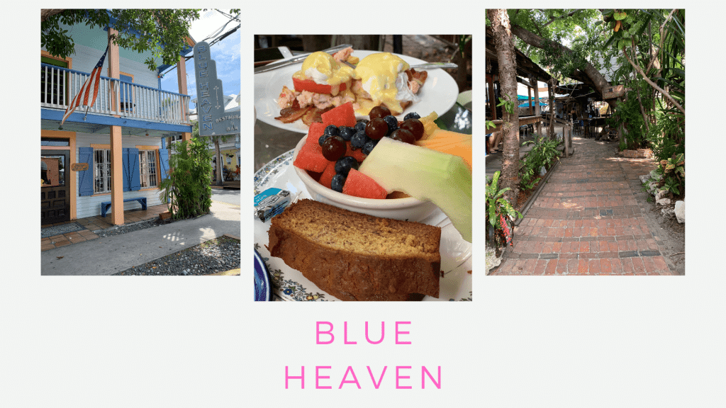 Trip Guide to Key West, Florida, Couples Getaway, Stilettos and Diapers, Blue Heaven