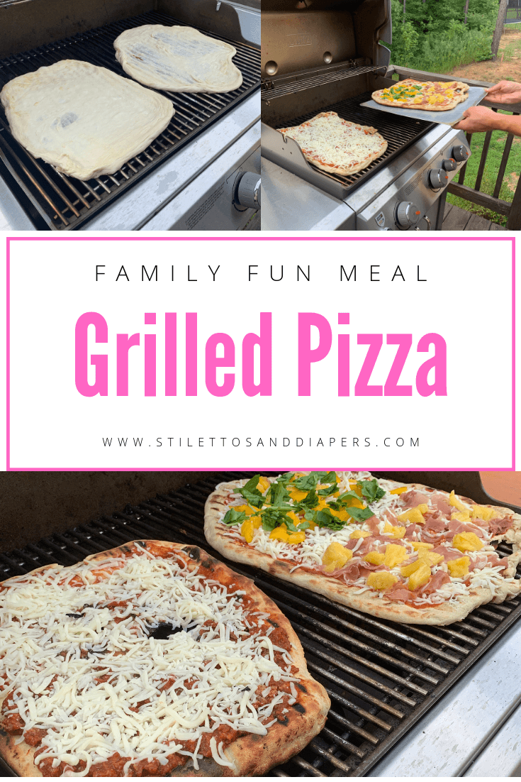 Grilled Pizza Recipe, Stilettos and Diapers