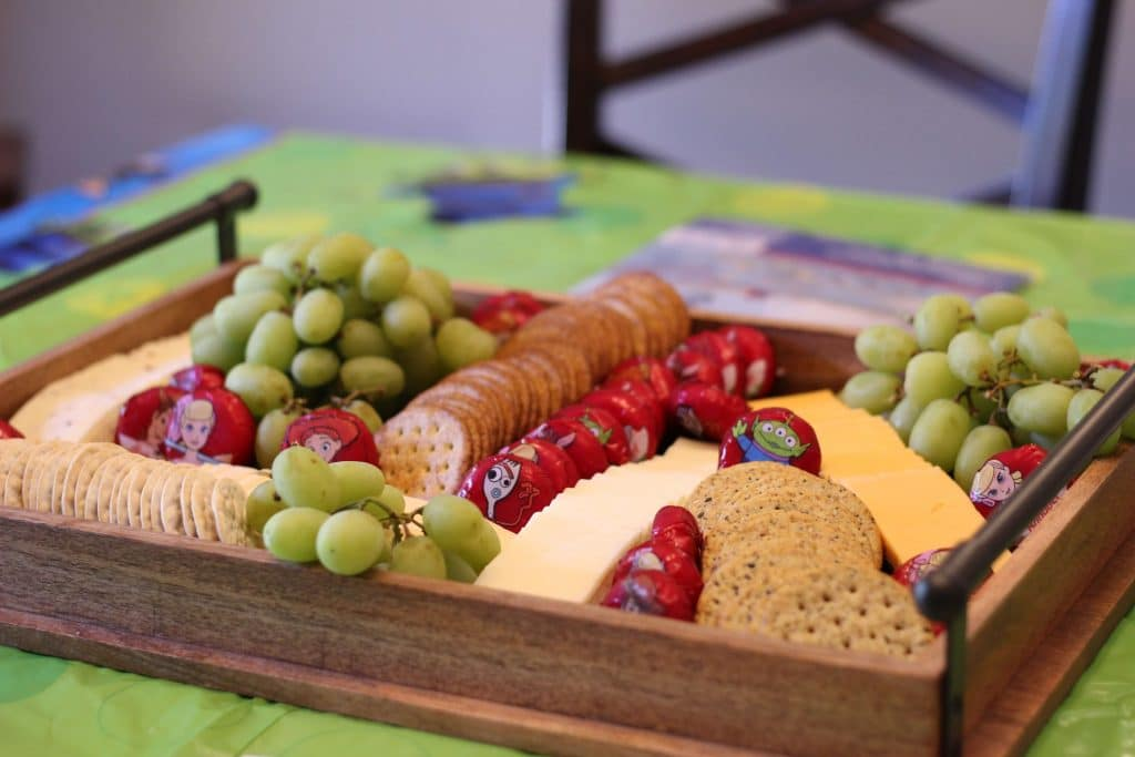 Toy Story Party Food Idea, Stilettos and Diapers