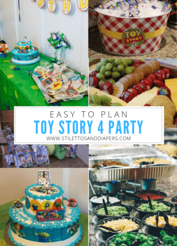 Toy Story Birthday Party, Stilettos and Diapers, Molly Wey