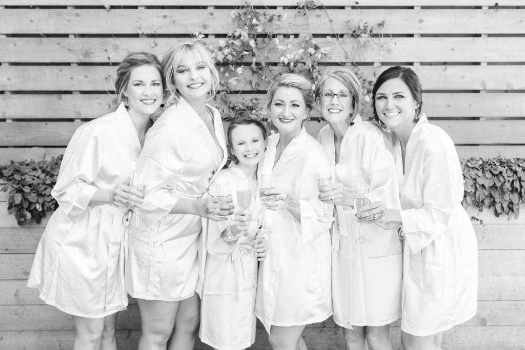 Stilettos and Diapers, Molly Wey, Bridal party robes