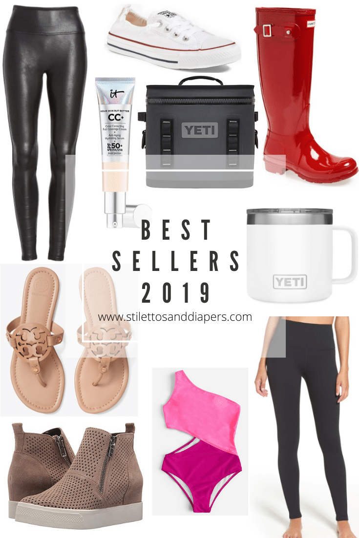 Best Sellers 2019, stilettos and diapers