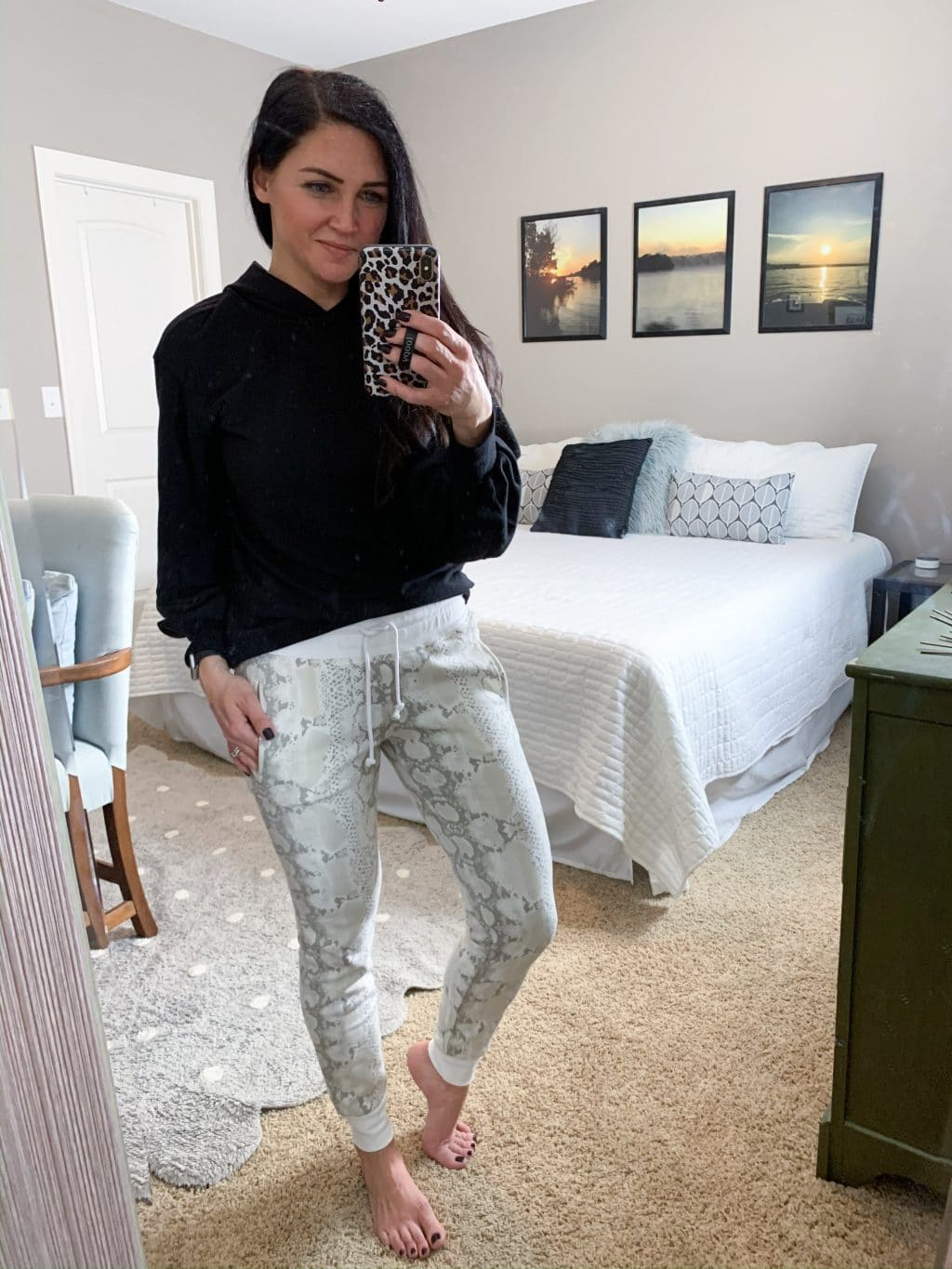 Athleisure, Snakeskin Joggers, Casual style, Stilettos and Diapers, Molly Wey