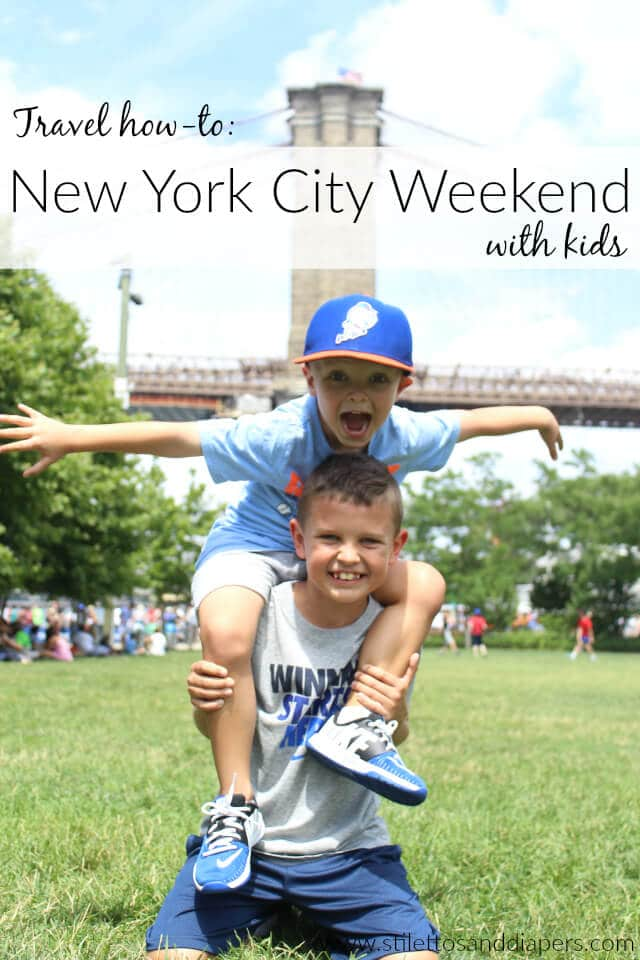 New York City with Kids, Stilettos and Diapers