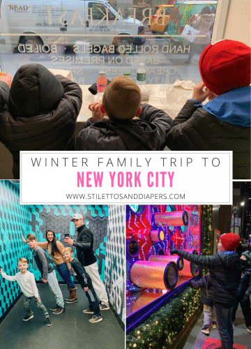 Winter New York City Trip with Kids, Stilettos and Diapers, Molly Wey