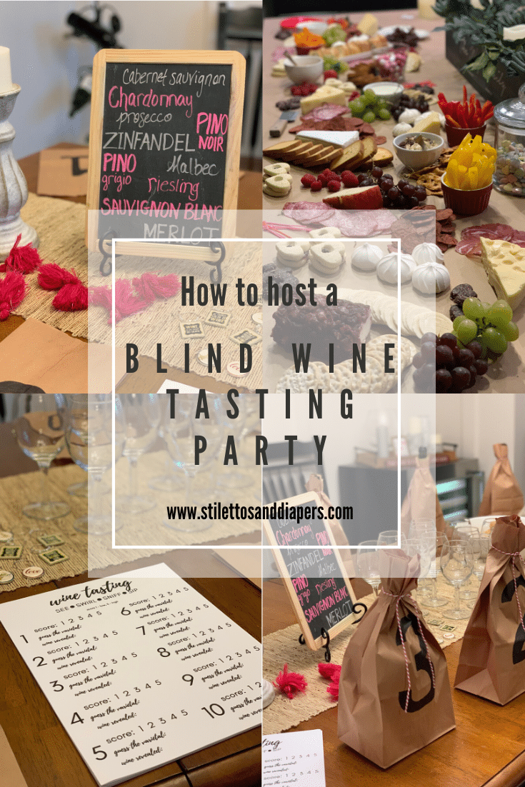 How to host a Blind Wine Tasting Party, Stilettos and Diapers