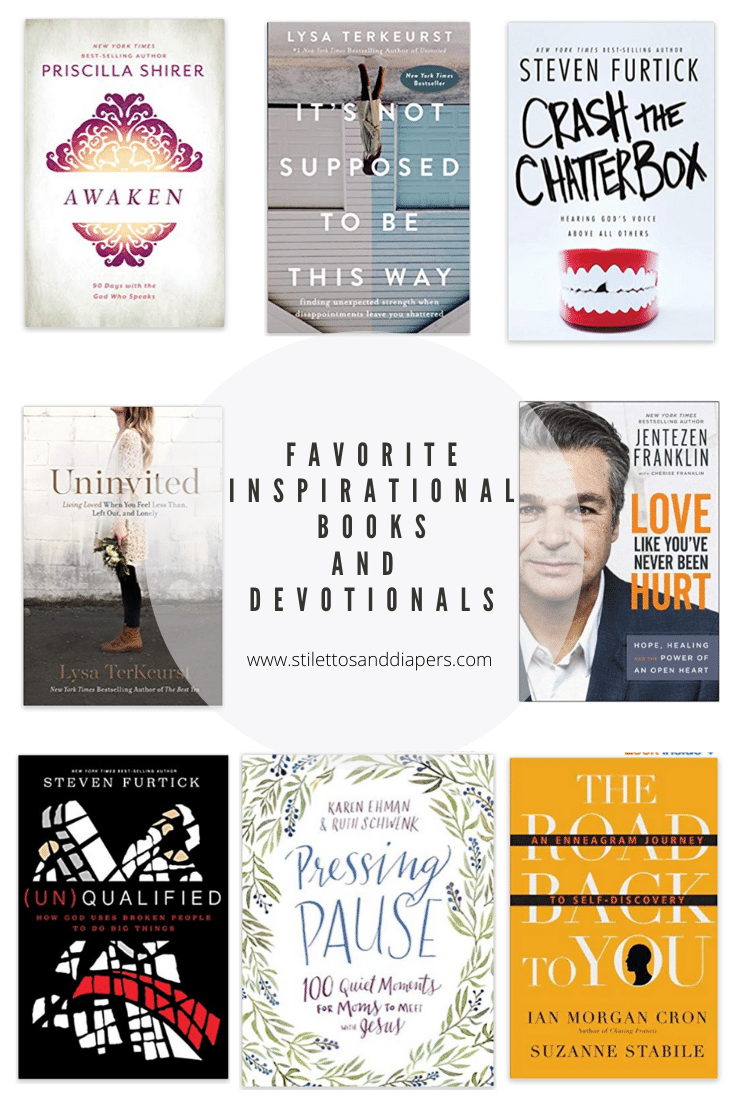 Favorite Inspirational Books and Devotionals, Stilettos and Diapers