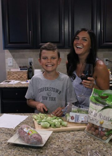 home economics for kids, stilettos and diapers