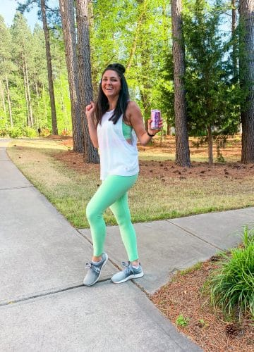Workout Schedule, Ellie Activewear, Stilettos and Diapers