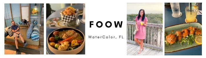 FOOW, Watercolor, Florida, Best restaurants 30a, Stilettos and Diapers