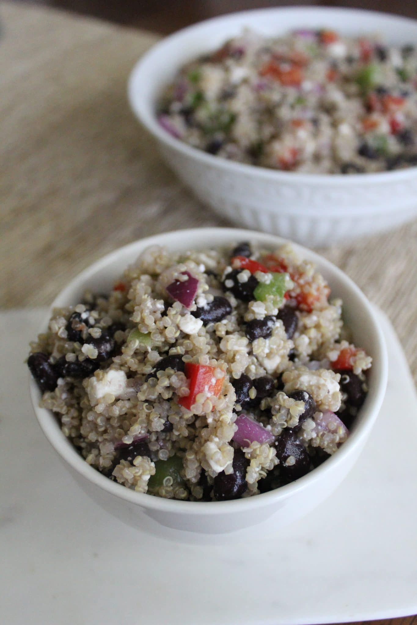 Mexican Quinoa Salad, Stilettos and Diapers