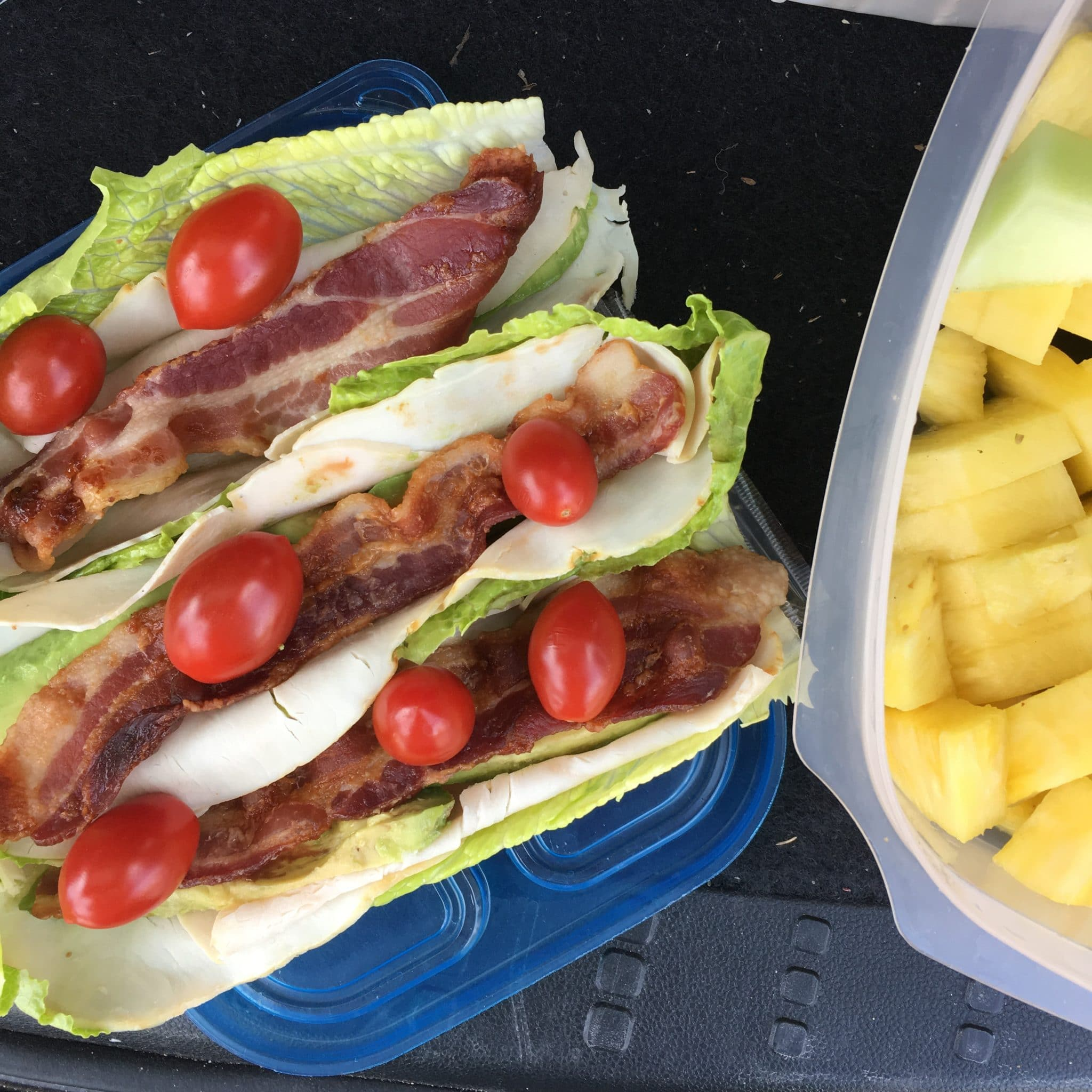Healthy go-to lunches, Stilettos and Diapers, BLT wraps
