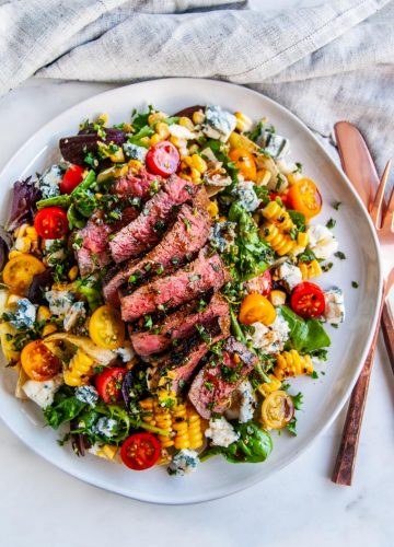 Balsamic Steak Gorgonzola Salad