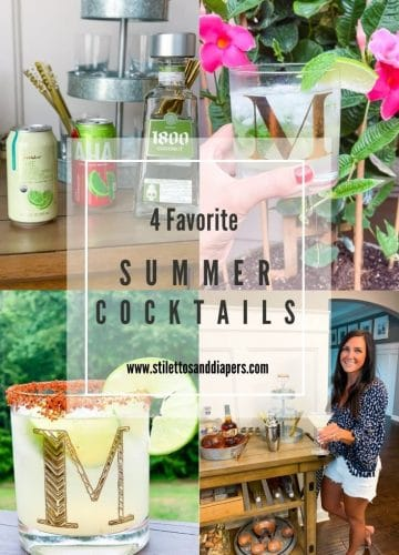 Best Summer Cocktails, Stilettos and Diapers