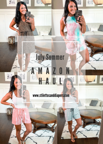 July Amazon Haul, Amazon Summer 2020, Stilettos and Diapers
