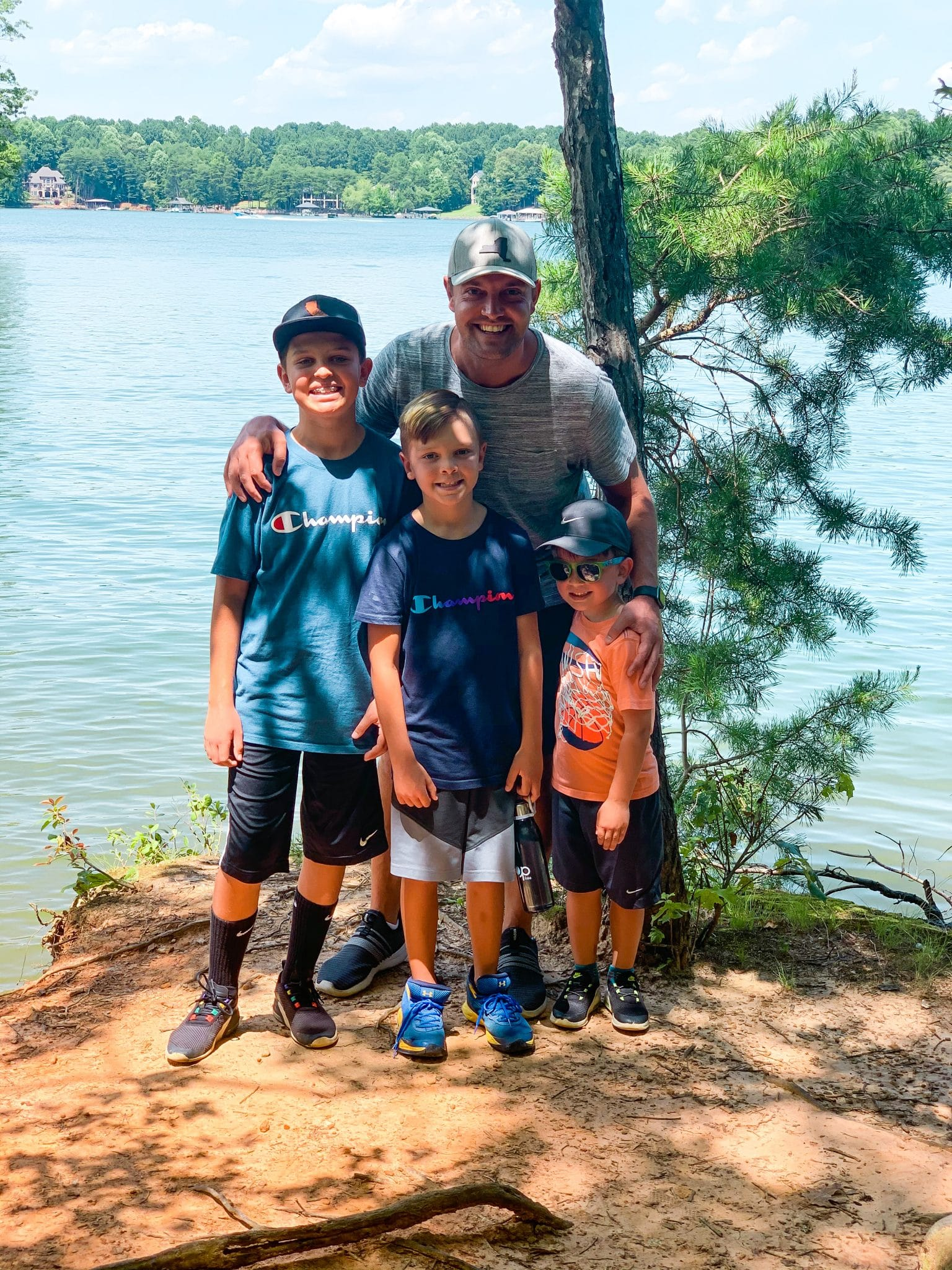 Hike Lake Norman State Park, Boy Dad, Brothers, Stilettos and Diapers