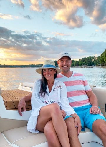 Lake Norman, Stilettos and Diapers, Nautique Boats, Lake Date night